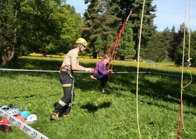 Lezení v korunách stromů Datel arboristika Krkonoše (3)