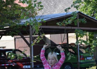 Představujeme obor stromolezení školákům ze školy NA horu Jilemnice (3)