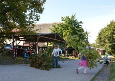 Představujeme obor stromolezení školákům ze školy NA horu Jilemnice (4)