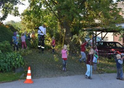Představujeme obor stromolezení školákům ze školy NA horu Jilemnice (5)