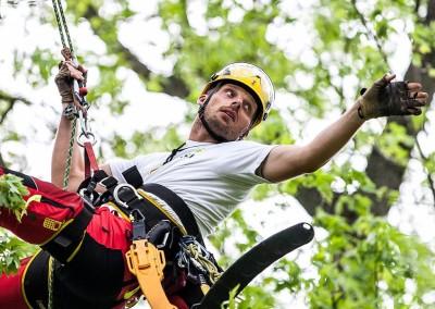 European Tree Worker Lukáš Neklan