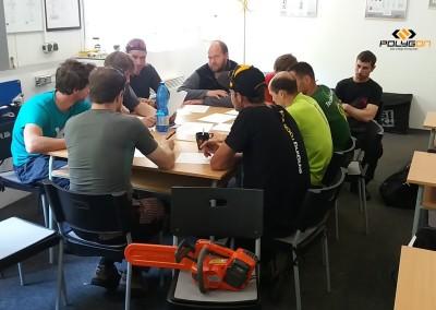 Opakovací školení BOZP pro práce ve výškách pro stromolezce