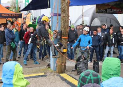 Baumpflegetage 2017 speciální veletrh v Německu věnující se ošetření stromů arboristice